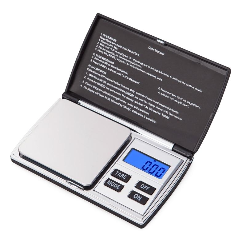 Precíziós 500G 0,01 g mini ékszer digitális mérleg hordozható - Mérőműszerek - Fénykép 4
