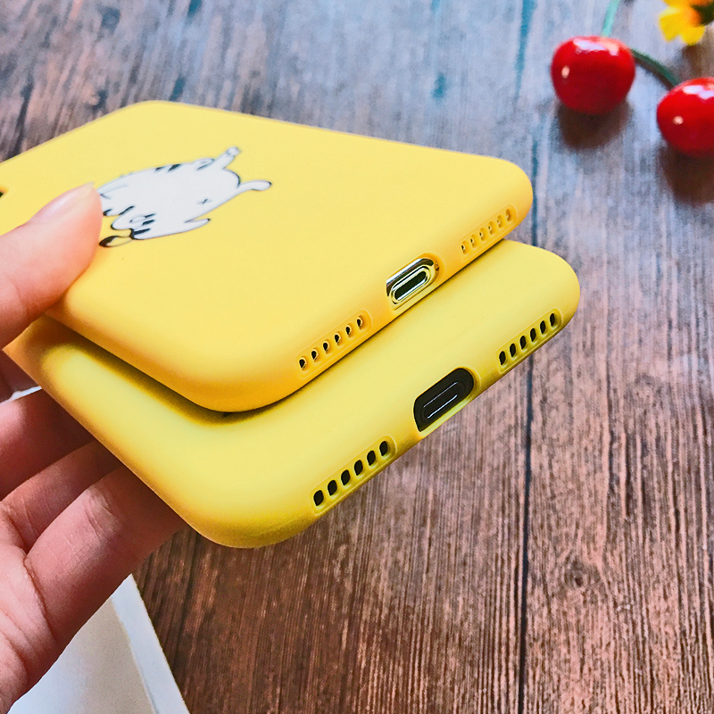 Funny Cartoon Giraffe Phone Case For iPhone 7 8 Plus TPU Silicone Back Cover for iPhone X XR XS Max 6 6S Plus 5 5S SE Soft Case (4)