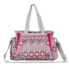 Nowy czeski styl torby na pieluchy wielokolorowe paski macierzyństwo matka torba do wózka dla mamy niemowląt opieki torebki dziecięce