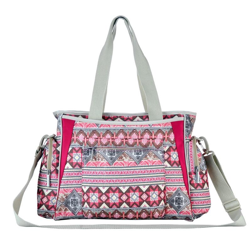 új cseh stílusú pelenka táskák színes csíkos anyaság anyja babakocsi táska múmia kézitáska csecsemő pelenka ellátás baba táskák