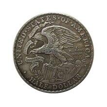 Дата 1918 США Иллинойс памятные полдоллара копии монет