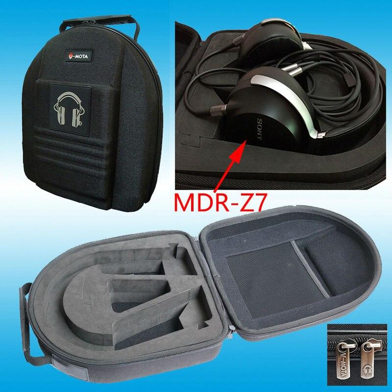 bilder für Vmota kopfhörer boxs für sony mdr-z7/mdr-z1r und beyerdynamic dt880 pro/dt990 pro/dt1990 pro/t90/dt770 pro kopfhörer koffer