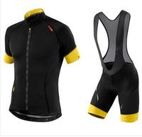 Breathable Quick Dry Bike Ropa Ciclismo Skintight Short Sleeve Cycling Jersey Clothes BIB Short Gel Pad