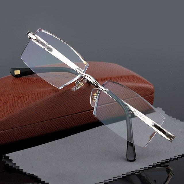 Producto terminado Hombre Presbicia Gafas de Moda Masculina de Fondo De Corte Gafas de Presbicia Astigmatismo Hipermetropía Resistir La Fatiga 1008