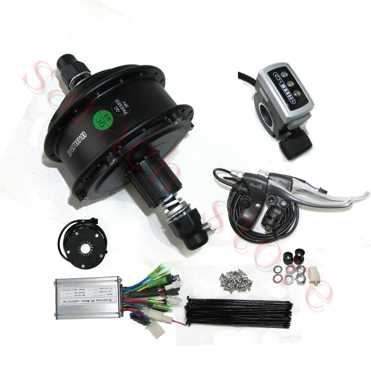 Popular electric motor for mountain bike buy cheap for Bicycle electric motor kits