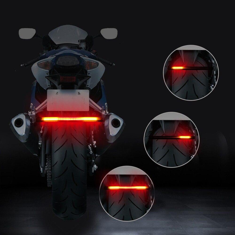 1 Piece Universal Car Break Light Motorcycle Back Lamp Lights Kit Warning Signal LED Auto Taillight Breaking Light