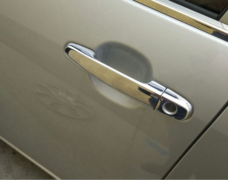 Car Accessories Fit For Toyota Rav4 2 0 2009 2010 2011 2012 Exterior Abs Chrome Side Door Handle