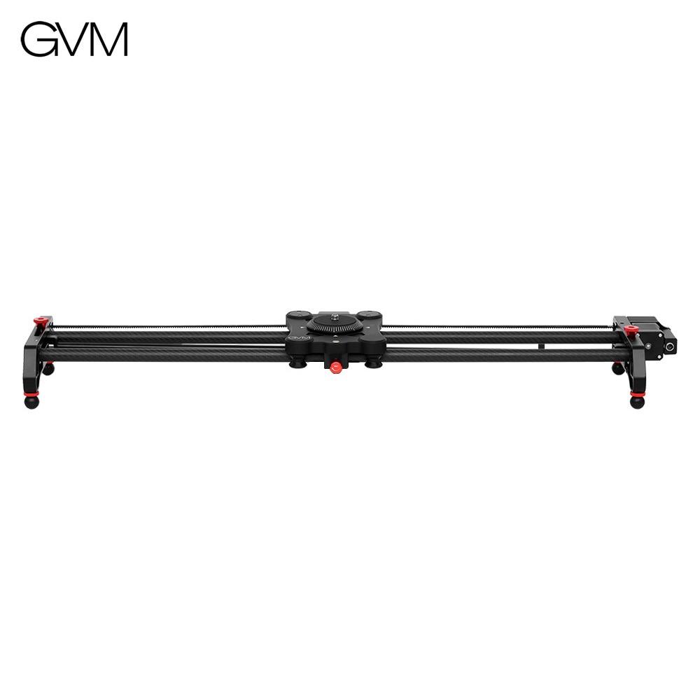 GVM GP 120QD 120cm Motorized Camera Track Slider Dolly Rail Carbon Fiber Time Lapse Follow Focus