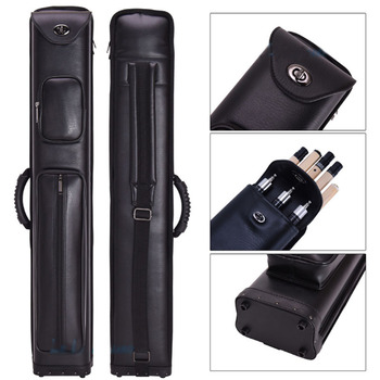 3x5 Pro Pool Cue Case 3 Butts 5 Shafts Carry Billiard Pool Cue Stick Case