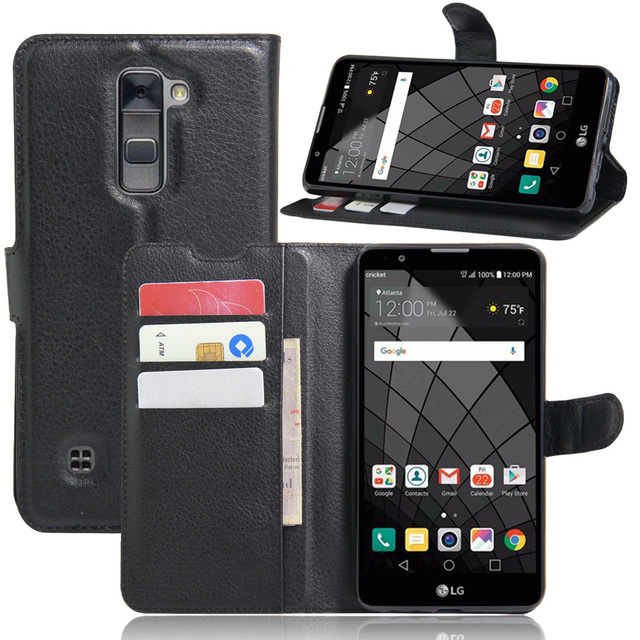 detailed look b2d40 a2ca6 US $3.99 |For LG Stylus 2 Plus K530 K535D/N Case Wallet Style PU Leather  Mobile Back Cover For LG Stylo 2 Plus K550 MS550 Phone Case-in Flip Cases  ...
