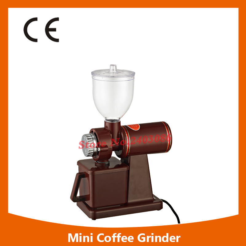 150W 250g semi automatic coffee grinder beans mills Portable Adjustable mini grinder for coffee portable 150w electronic coffee grinder silver black ac 230v eu plug