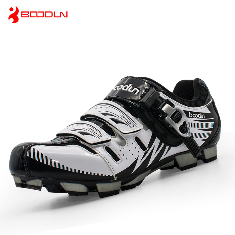 Boodun MTB Cycling Shoes Professional Men Breathable Bike Shoes Bicycle Self-Locking Athletic Shoes Zapatillas Ciclismo professional bicycle cycling shoes mountains bike racing athletic shoes breathable mtb self locking shoes ciclismo zapatos