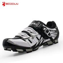 Boodun VTT Chaussures de Vélo Professionnel Hommes Respirant Vélo Chaussures De Vélo Auto-Verrouillage de Sport Chaussures Zapatillas Ciclismo