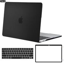 MOSISO מחשב נייד מקרה עבור Macbook Pro 13 15 מגע בר A1706 A1707 A1708 A1989 A1990 מט מחשב נייד כיסוי עבור Mac ספר 13.3 אינץ מקרה