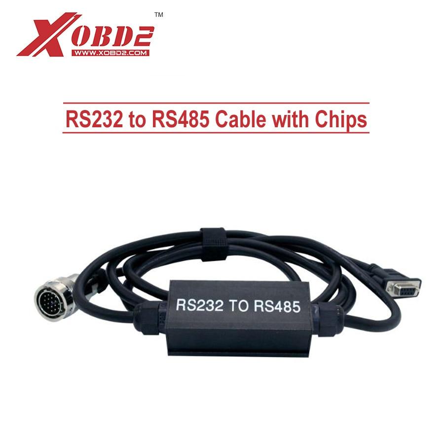 Prix pour Un + RS232 à RS485 Câble Avec PCB et Plein Puces pour MB Star C3 Câble pour Multiplexeur Outil De Diagnostic DHL Livraison Gratuite