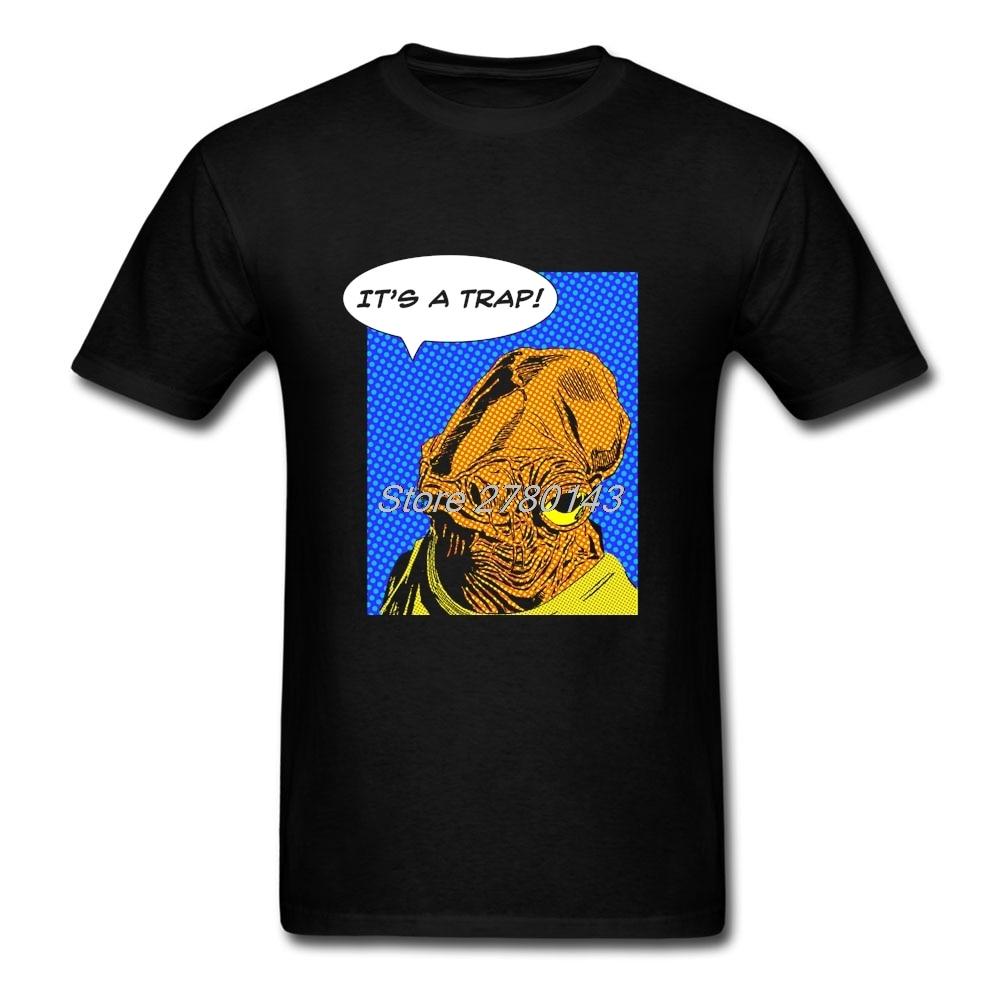 Shirt design website cheap - Shirt Design Website Admiral Ackbar 039 S Appraisal Short Sleeve Crewneck Cotton Mens Cheap T Shirt Big Size