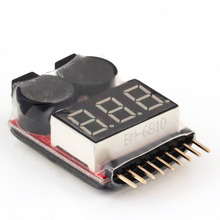 Lipo/li-ion/fe buzzer voltage tester low alarm selling battery hot for