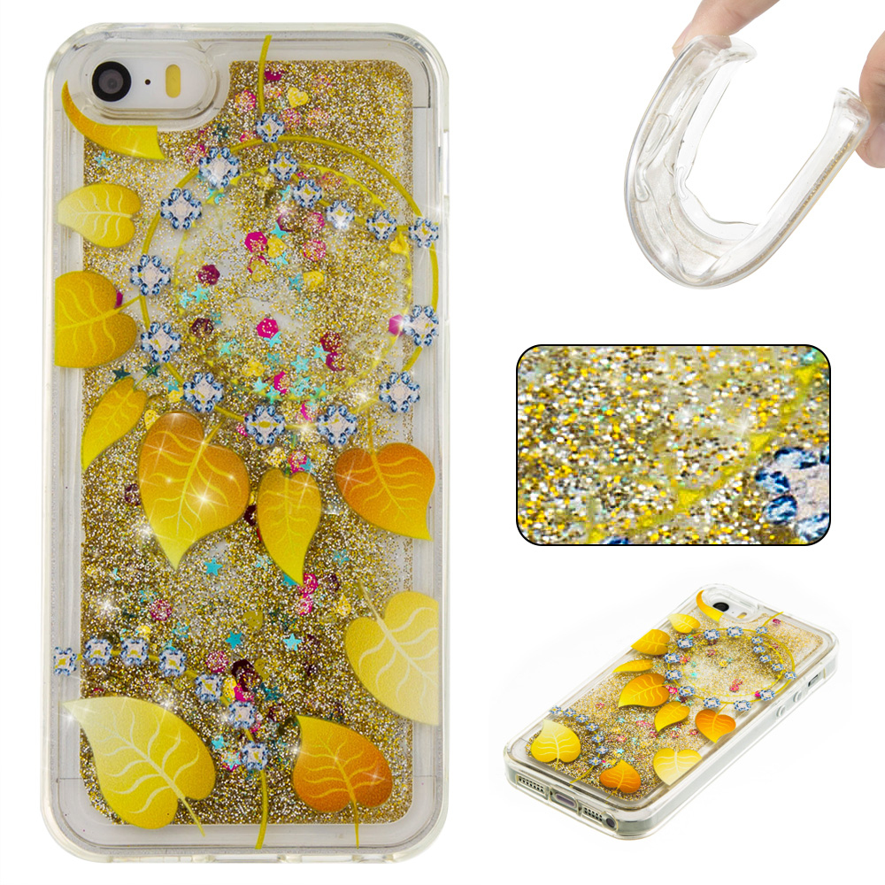 ... 6 6S 7 Plus - Meteor Phones. New Fashion Liquid Glitter meteor sand  sequins Colorful Dynamic Soft TPU cover Phone cases For iphone ce1ea8dd971e