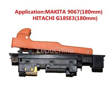 Горячая распродажа! переключатель для Makita 9067/Hitachi G18SE3 угловая шлифовальная машина 180 мм ремонт высокое качество применение для оригинальног...