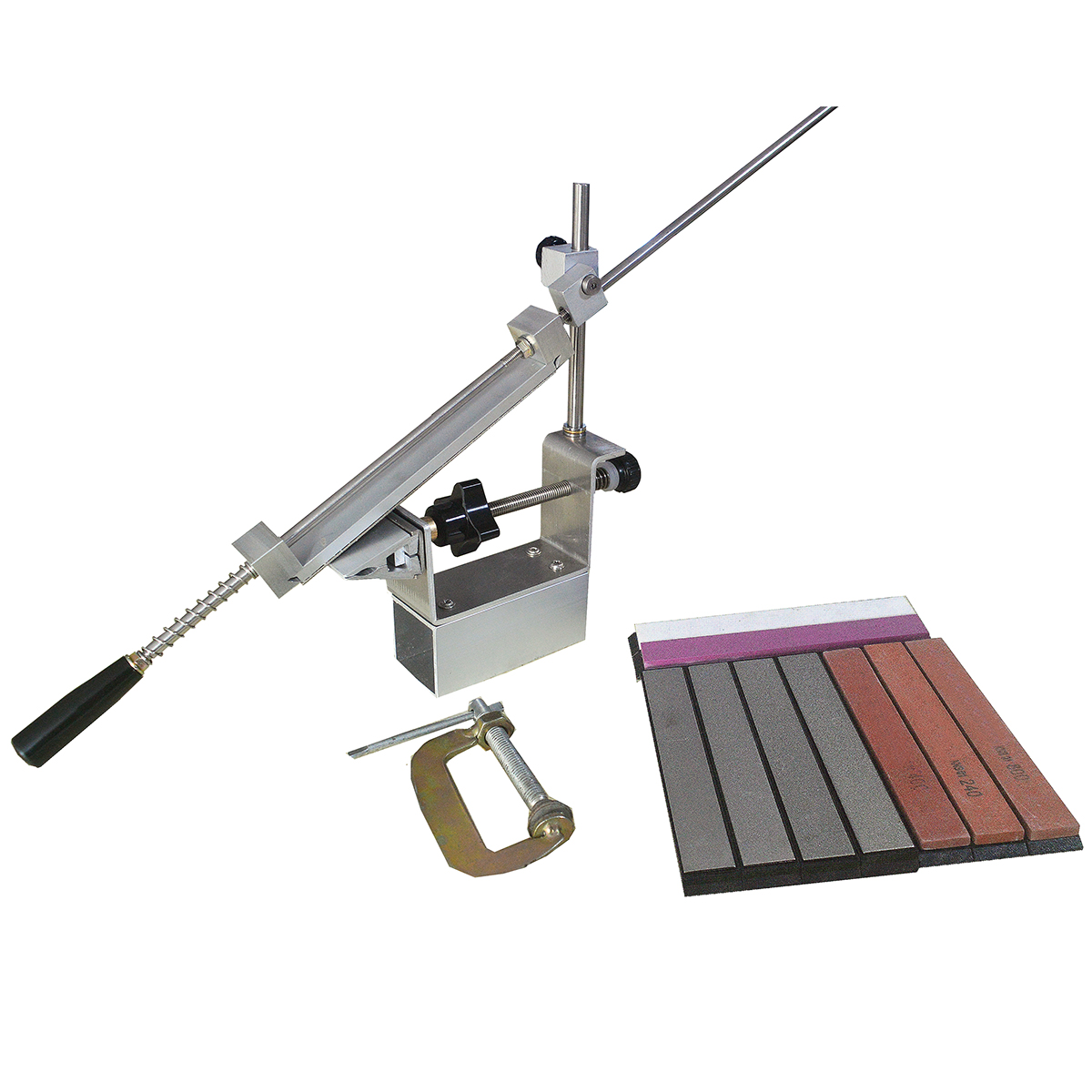 Messer Spitzer Professionelle Größeren Grad Neueste Tragbare 360 Grad Rotation clip Apex rand RAND KME system 1 diamant stein