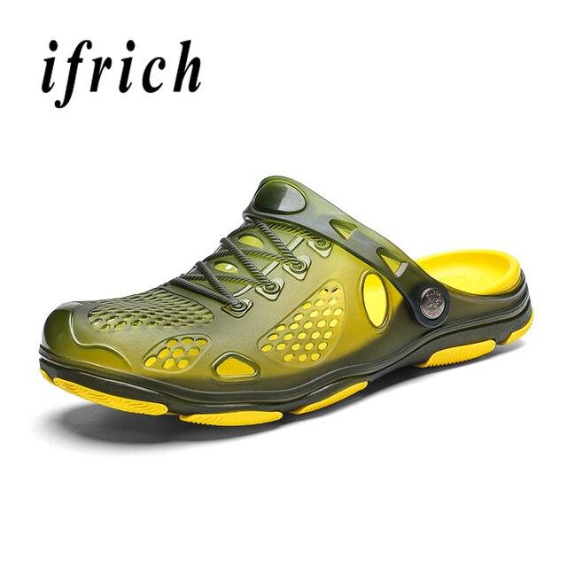 Water Shoes Men Sport Sandals Summer Breathable Water Men Shoes Beach Light Anti-Slip Water Sandals Sport Shoes Men Sneakers