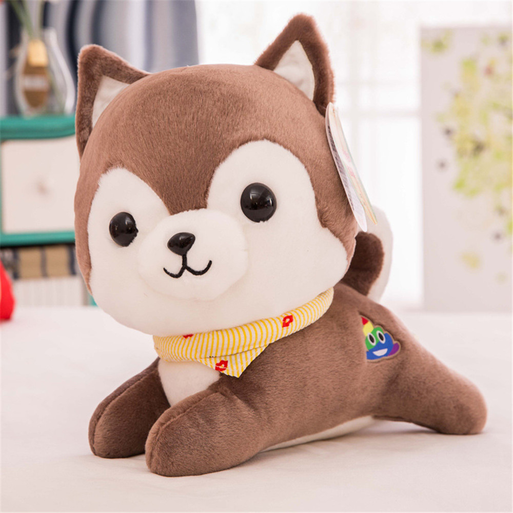 Fancytrader Soft Animal Corgi Plush Doll Big Stuffed Animal Dog Toy Animals Pillow Kids Gift 20inch 50cm fancytrader lovely soft cartoon fox plush toy stuffed animal fox dog doll pillow creative decoration gift 47inch 120cm 3 colors