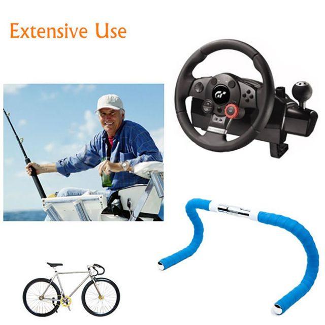 Road Bike Bicycle Handlebar Tape Camouflagebelt Cycling Handle Belt Cork Wrap with Bar Plugs non slip absorb sweat 5