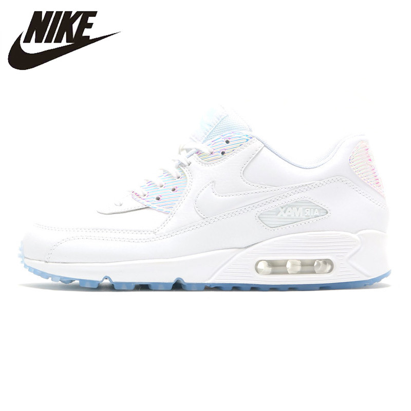 huge inventory 8ded4 046b9 Detail Feedback Questions about Nike Air Max 90 Premium Women s Running  Shoes, White, Abrasion Resistant Non slip Waterproof Breathable 443817 104  on ...