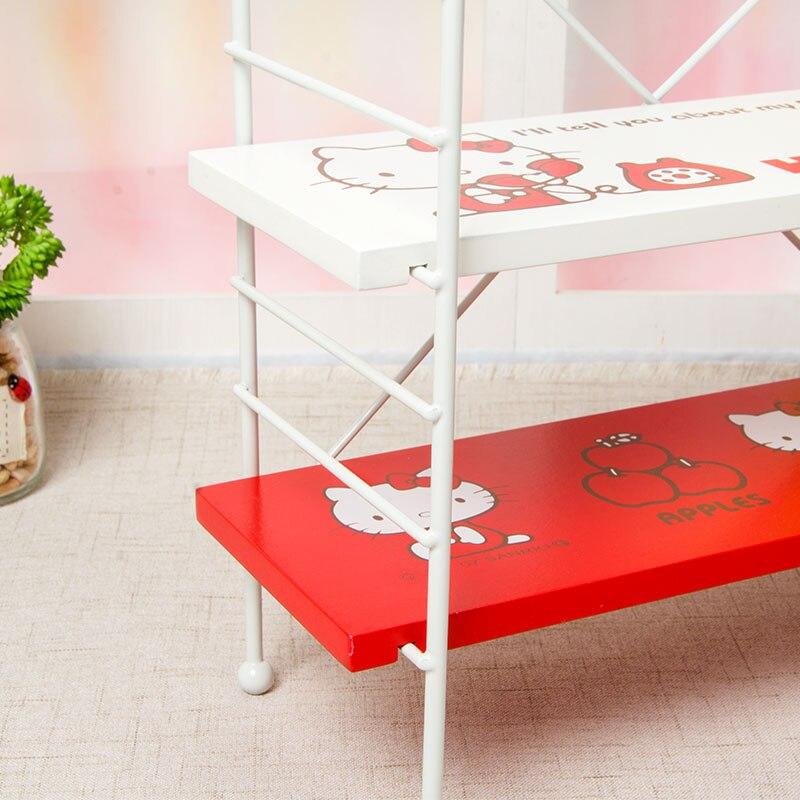 Hello Kitty Opbergkast.Hello Kitty Desktop Drie Layer Opbergkast Plank Sieraden Doos