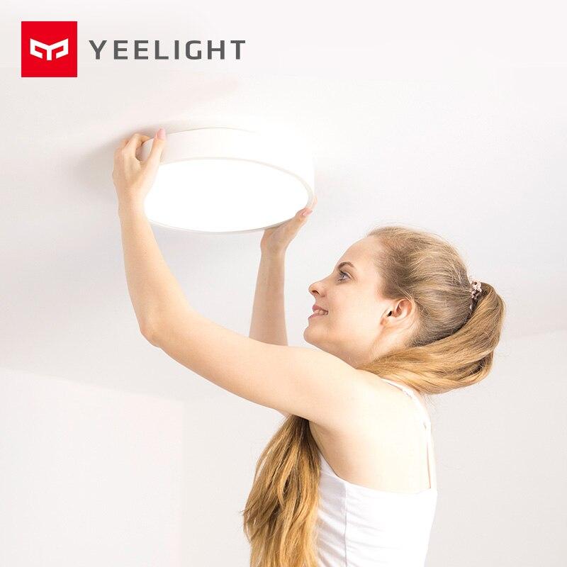 2019 nouveau Original Xiao mi Yeelight Smart plafonnier lampe à distance mi APP WIFI Bluetooth contrôle LED intelligent couleur IP60 anti-poussière - 6