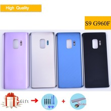 For Samsung Galaxy S9 G960 G960F SM-G960F Housing Battery Cover Back Cover Case Rear Door Chassis S9 Housing Shell Replacement цена и фото