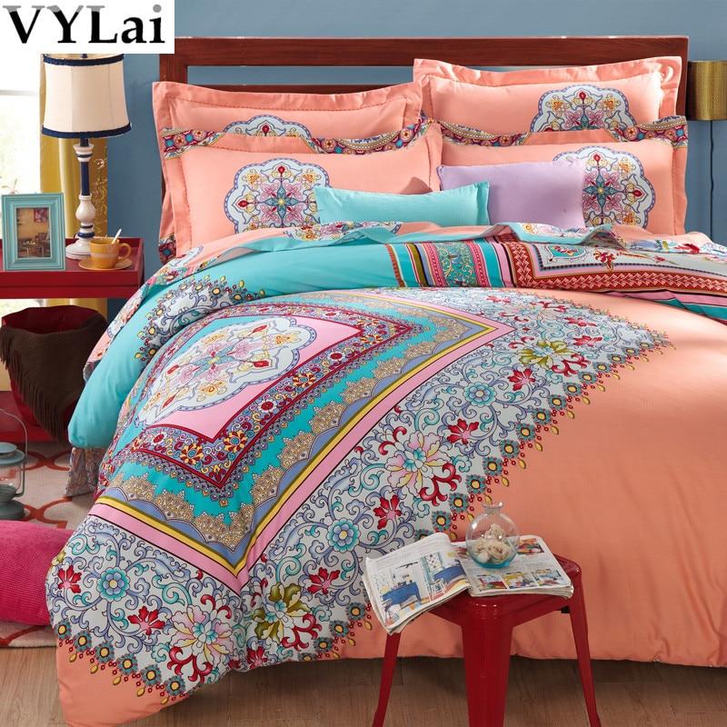 Aliexpress.com : Buy Luxury boho bedding sets 4/5pcs queen king ...