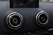 Lapetus Air AC Conditioning Outlet Vent Ring Cover Trim 4 Pcs For Audi Q2 2017 - 2019 / A3 2014 - 2018 / S3 2014 - 2018 Interior стоимость