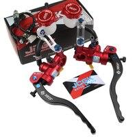 Universal 17.5mm motorcycle brake clutch pump lever Radial master cylinder 7/8 22mm For Yamaha Kawasaki Suzuki Honda