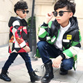 Boys White Duck Down Jacket 2017 Colored Winter Warm Coats Thicken Outerwear with Hood Kids White Goose Down Parkas Boys Clothes