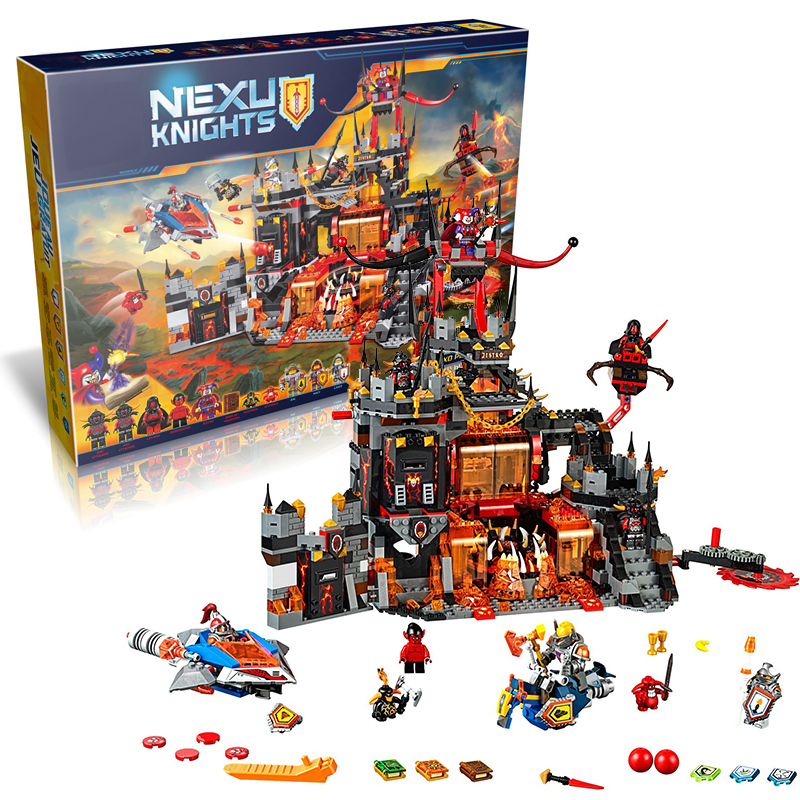Bela 10521 Jestro's Volcano Lair building Blocks Bricks Game Toys for children Castle Weapon Gun Gift Decool lepin 70323 14019 lepin 02005 volcano exploration base building bricks toys for children game model car gift compatible with decool 60124