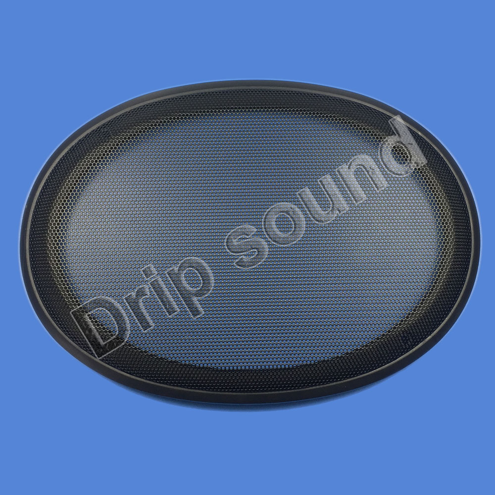 2X 4Inch Car Audio Speaker Mesh Grille Cover Net Protective Case Black Universal