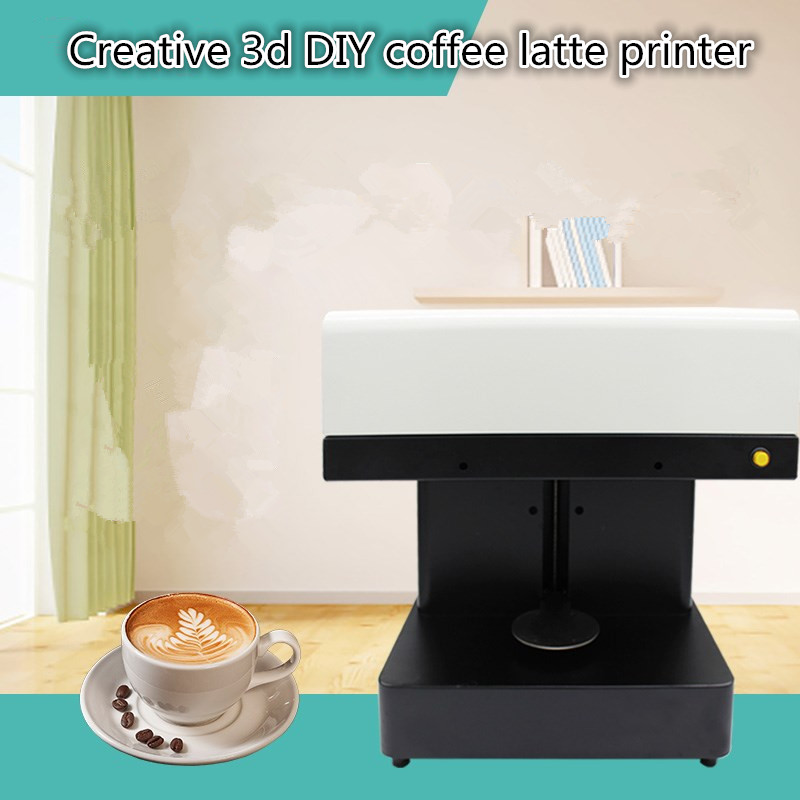 China manufacturer automatic selfie coffee printer machine coffee milk cookies custom DIY drawing latte art printer coffee and food printer inkjet printer selfie coffee printer full automatic latte coffee printer with 8 inch tablet pc