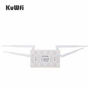 Image 4 - Rete domestica senza fili del Router del segnale di wifi precaricato openWRT del Router senza fili di alto potere 300Mbps con lantenna 4*5 dbi