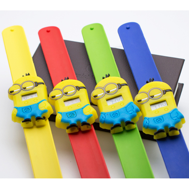 FD Cute Cartoon Girls student watch 2017 Hot Pattern Milk Dad Rubber Children Wristwatch for Girls Boys Kids Baby Clock