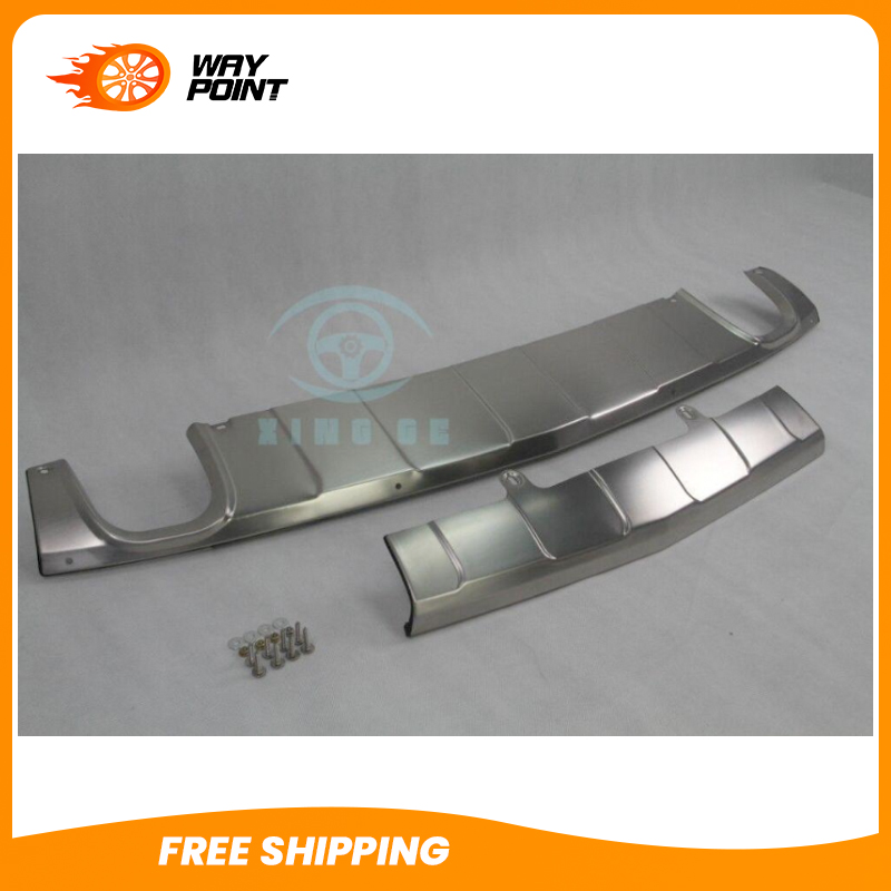 stainless for Mercedes Benz X204 GLK 2008 11 bumper board guard skid plate bar