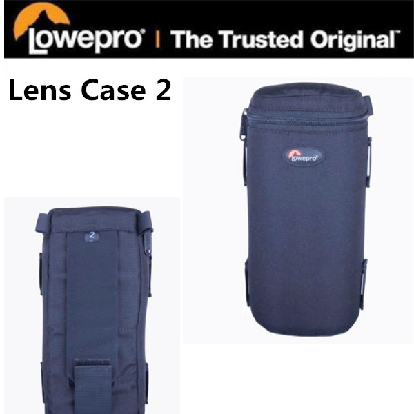 Lowepro LC2 padded Lens Case 2 waterproof photo pouch for Nikon Canon Camera Telephoto wide angle short zoom ( 9 cm x 21 cm )