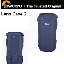Lowepro LC2 padded Lens Case 2 waterproof photo pouch untuk Nikon Canon Camera Telephoto wide angle zoom pendek (9 cm x 21 cm)