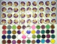 New Pro UV GEL 36 Color UV Gel pure gel gitter gel 45colors nail glitter Nail Art Tools polish Set Kit