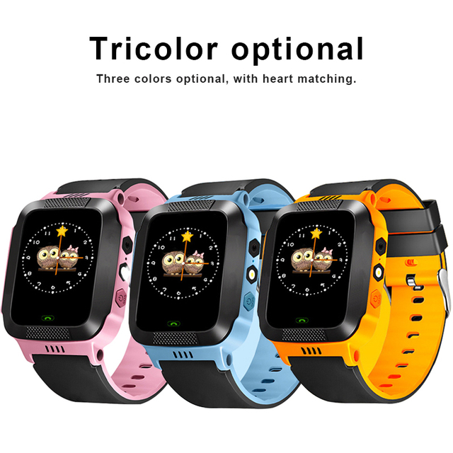 Children Smart Watch For Kids Safe Camera SIM Call Baby LBS SOS Wristwatch Alarm Clock Waterproof Child Gift For GPS