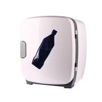 Olyair 13L transparante deur auto koelkast mini auto koeler koelkast wit DC 12 V AC 220 V