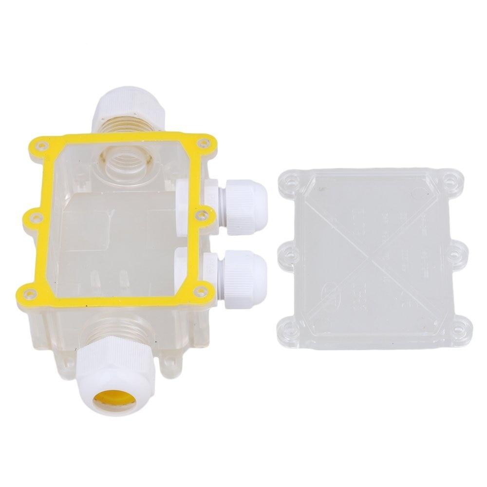 4 wege 24A 450 V Transparent Outdoor Wasserdicht IP68 Kabel Draht ...