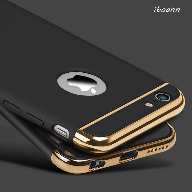 best website e0619 76204 US $2.2 |iboann for iphone XS max XR 5 5s se 6 6s 6Plus 7 8 plus X Case  Armor Slim Thin Gold Black Cases Luxury Cover Shockproof-in Fitted Cases  from ...