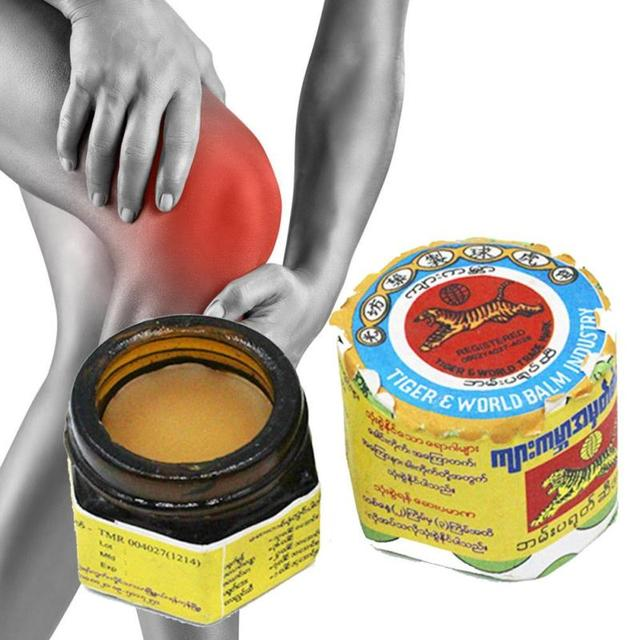 US $3 38 31% OFF|Tiger Balm Muscle Aches Myanmar Ointment Cramps Sprain  Bruises Mosquito Bites Joint Pain Body Massage Cool Oil L3-in Patches from
