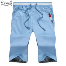 2019 Summer fashion brand men Shorts Men's casual Shorts cotton Men Short pants plus size